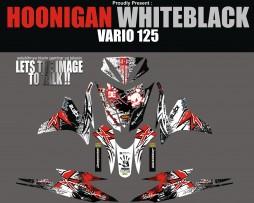 HONDA VARIO 125 FI -HOONIGAN BLACKWHITE