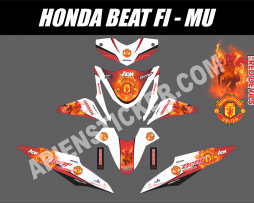 Striping Motor Beat FI Manchester United