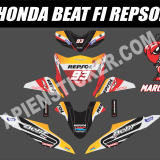Striping Motor Beat FI Repsol Marquez