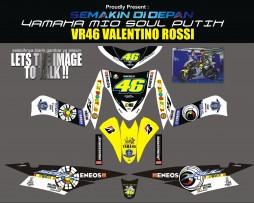 Striping Motor Mio Soul Valentino Rossi