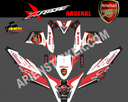Striping motor xride ARSENAL