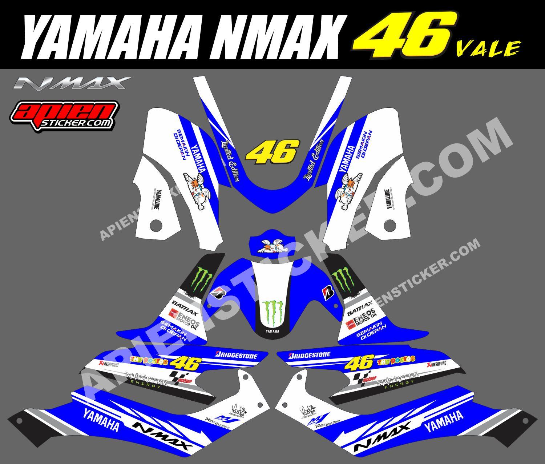 Striping Motor Yamaha NMAX MotoGP Rossi - Apien Sticker