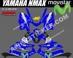 Yamaha NMAX MOTOGP movistar
